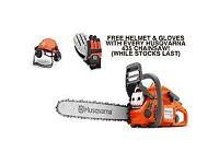 Husqvarna 435 chainsaw ***FREE GLOVES AND HELMET***
