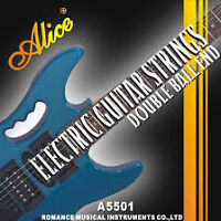 GUITAR STRINGS ALICE ELECTRIC GUITAR STRINGS $10.00