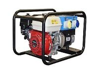 Wanted Honda petrol generator for spares or repair non runner