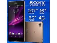 Sony Xperia z3 gold