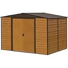 8 x 6 Woodvale Metal Apex Shed. New.Flatpack.
