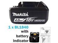 Makita 18v battery 4ah brand new !!!