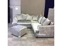 🏮BEST SALE OFFER LIVERPOOL CRUSH VELVET CORNER AND 3+2 SEATER SOFA SET 🏮AVAILABLE NOW🏮