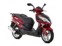 lexmoto fms 125cc moped perfect condition extra accessories