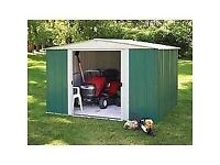 Brand new in box 10 x 8 Greenvale metal shed