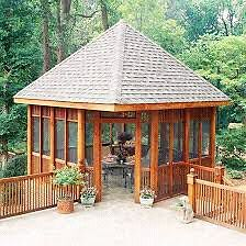 PERMANENT  GAZEBOS ....10X10 $6500