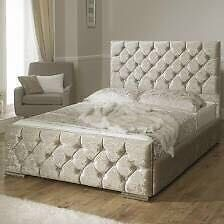 Brand new !!! Florence bed crushed velvet