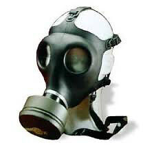 BRAND NEW GAS MASKS FOR BIOLOGICAL NUCLEAR AND CHEMICAL MISHAPS