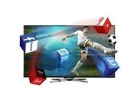 "50"" Finlux Full HD 1080p LED Smart TV With Freeview HD. Brand New £349.99 only"