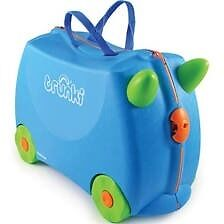 Trunki blue suitcase for sale great condition