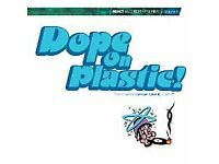 Various – Dope On Plastic! Vol 1 - REACT Records 1994 - Double Gatefold 2LP