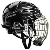 Bauer small helmet and face guard for ice hockey
