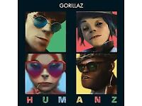 Gorillaz Glasgow tickets SSE Hydro - 4 x Excellent seats!! 205 C (WILL SELL IN PAIRS)