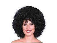 70s/80s BLACK AFRO FANCY DRESS WIG GREAT FOR PARTY OR HEN DO