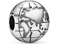 Planet Earth Clip Charm Pandora