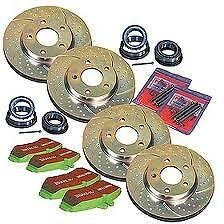 DISQUE DISK FREINS BRAKE SET PAD PLAQUETTE CALIPER GALIPER