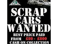 Mot Failures Wanted Same Day Pick Up And Payment !