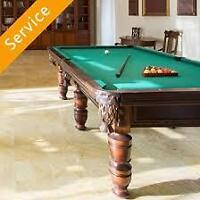 Pool Table Installation services