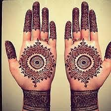 Henna/Mehndi temporary tattoos  for your events