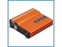 edge 7400 car amplifier 2 channel 400w