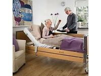 Heath care bed - Woburn Ultra Low Profiling Bed