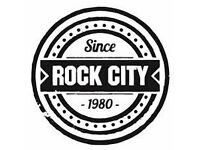 Rock City Bar Staff Full Time and Part Time Positions