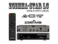 ZGEMMA LC CABLE BOX WD 12 MONTH GIFT HD SKYBOX OPENBOX MAG BOX