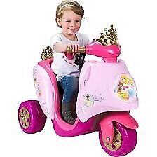 Feber Princess ... 6 volt battery powered toddlers scooter
