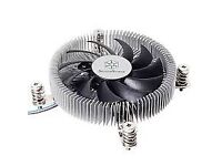 SilverStone NT07-II5G Nitrogen CPU cooler Low Profile 90mm LGA1156 boxed and new