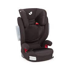 ALMOST NEW JOIE TRILLO LX ISOFIX HIGH BACKED BOOSTER