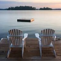Looking for help around the cottage.