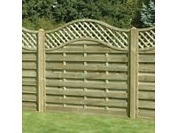 NEW Lattice panels & Gate
