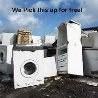 FREE PICK UP MATAL APPLIANCES ELECTRONIC ITEMS