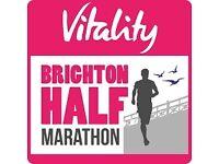 Brighton Half Marathon 2017 place WANTED