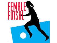 Futsal (Indoors) girls women ladies female players
