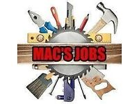 Mac's jobs - Handyman, Decorating & Gardening