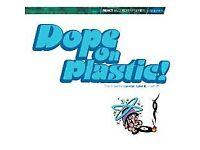 Various – Dope On Plastic! Vol 1 - REACT Records 1994 - Double Gatefold 2LP