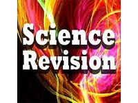 GCSE Chemistry, Physics and Biology tuition