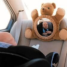 BEARVIEW MIRROR~ Beary Infant Mirror For Automobile~Crib Stratford Kitchener Area image 3