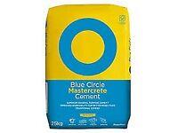 15 BLUE CIRCLE MASTERCRETE CEMENT 25KG BAG