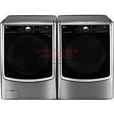 ''Quantité limitée, premier arrivé-premier servi'', Laveuse-Sécheuse électrique LG 27 po, Graphite, WM5000HVA-DLEX5000V