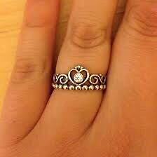 Princess pandora ring size 58