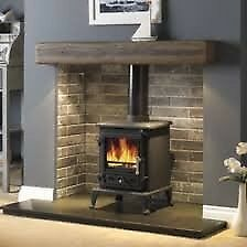 Brand New Bilberry 5kw Solid Fuel Stove
