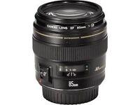 Canon EF 85mm f/1.8 USM Len