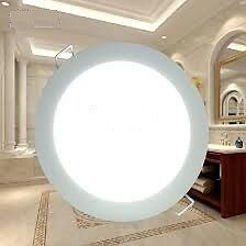 18W ROUND LED CEILING PANEL LIGHT - NEW