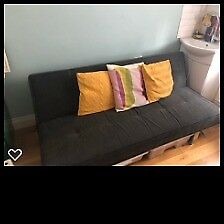 Click Clack Grey Sofa Bed Great Condition Pick Up Asap N10 Muswell Hill