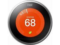 Nest thermostat installation