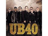 UB40 ticket - Bristol