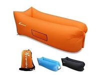 Inflatable Lounger - Orange