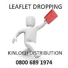 LEAFLET DISTRIBUTION - £95 PER 1000
